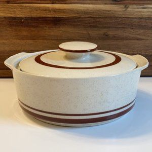 "MCM Scandia Northland Stoneware 8"" Casserole Dish"